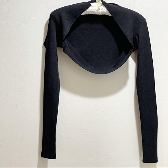 Vintage DONNA KARAN Women's Cashmere Silk Shrug